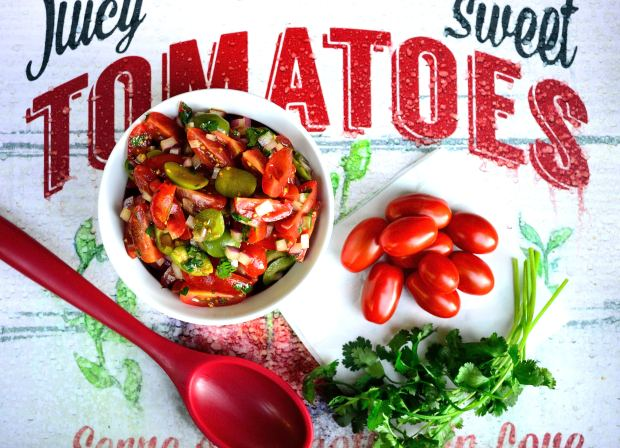 Olive & Tomato Salad | Life Healthfully Lived