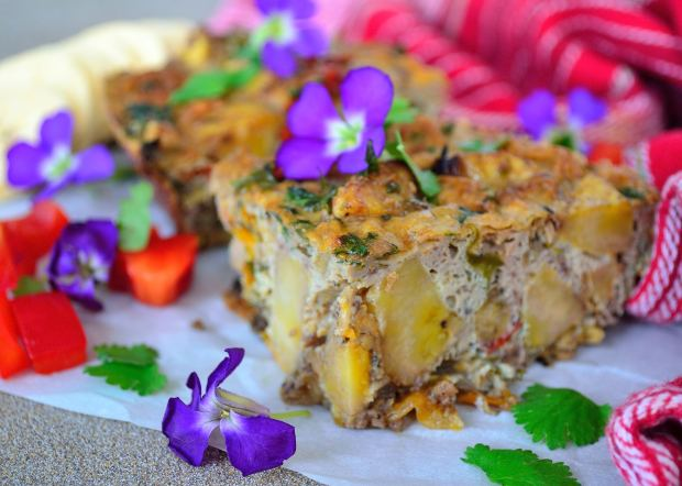 Plantain & Pepper Bake | Life Healthfully Lived