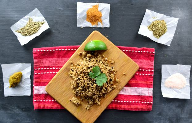 Thai Cauliflower Crumbles | Life Healthfully Lived