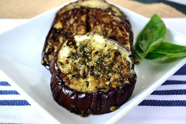 Pesto Eggplant Burgers | Life Healthfully Lived