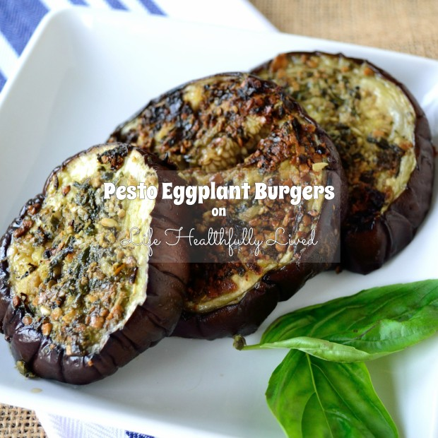 Pesto Eggplant Burgers | Life Healthfully Lived