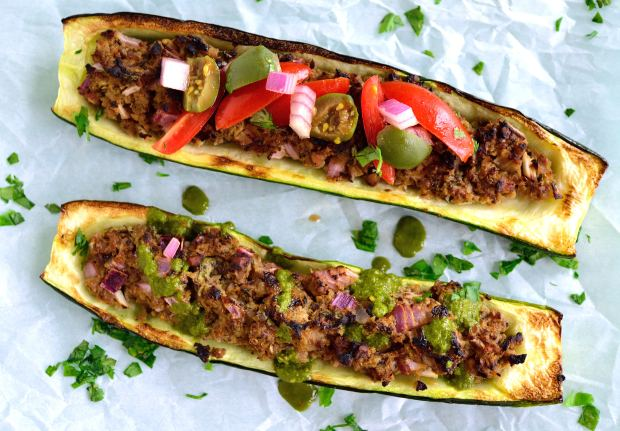 Mediterranean Zucchini Boats | Life Healthfully Lived