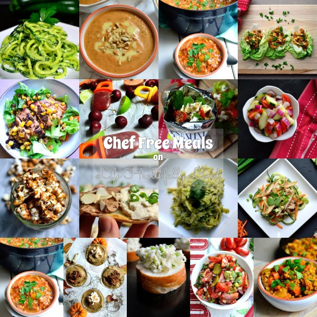 Chef Free Meals | Life Healthfully Lived
