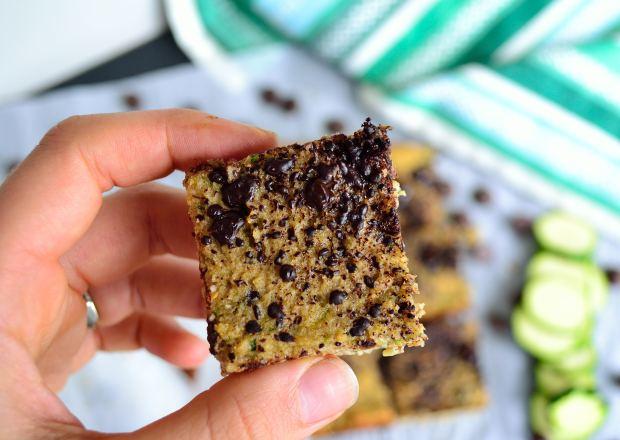 Dark Chocolate Zucchini Cake Bars | Life Healthfully Lived