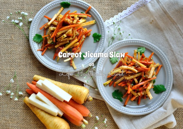 Carrot Jicama Slaw | Life Healthfully Lived