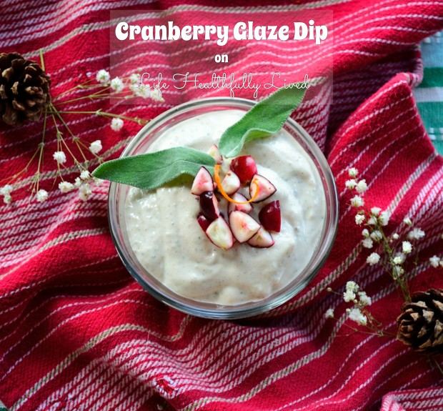 Cranberry Glaze Dip | Life Healthfully Lived