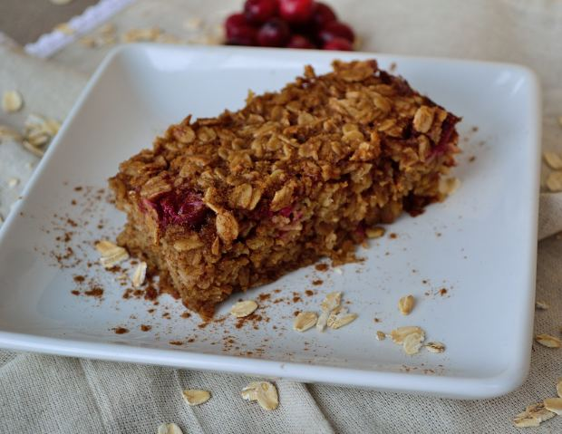 Baked Oatmeal Bars | Life Healthfully Lived