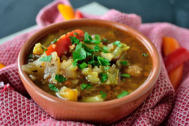 Spanish Olive & Tomato Soup | Life Healthfully Lived