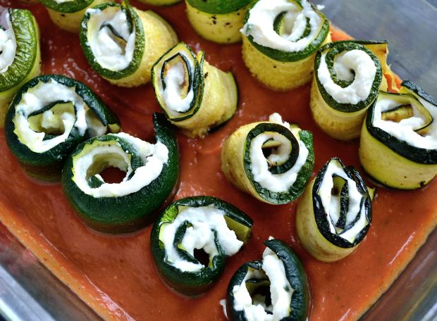 Baked Zucchini Rolls | Life Healthfully Lived