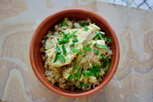 Slow Cooker Salsa Verde Chicken | Life Healthfully Lived
