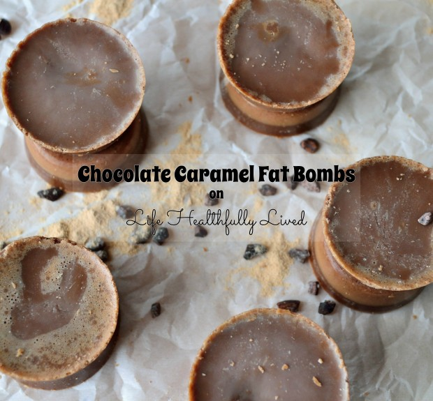Chocolate Caramel Fat Bomb | Life Healthfully Lived