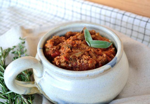 Instant Pot Ragu over Cabbage Noodles | Life Healthfully Lived
