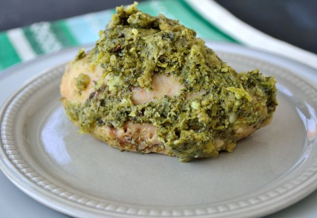 Spinach & Bacon Chicken Thigh Bake | Life Healthfully Lived