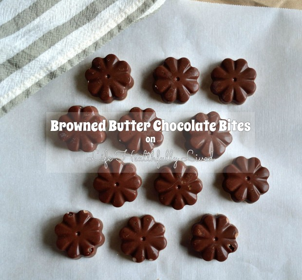 Browned Butter Chocolate Bites | Life Healthfully Lived
