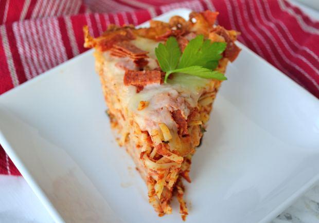 Spaghetti Pie | Life Healthfully Lived