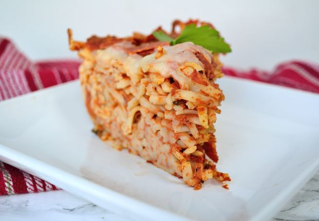 Spaghetti Pie | Life Healthfully Lived