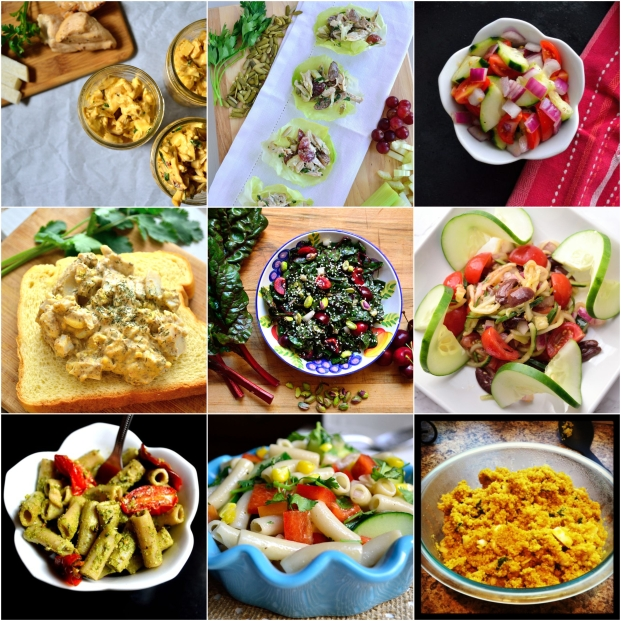 All The Summer Salads | Life Healthfully Lived