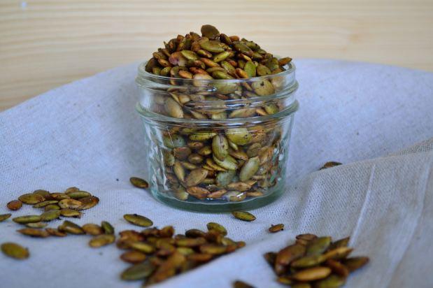 Chai & Ghee Roasted Pumpkin Seeds | Life Healthfully Lived