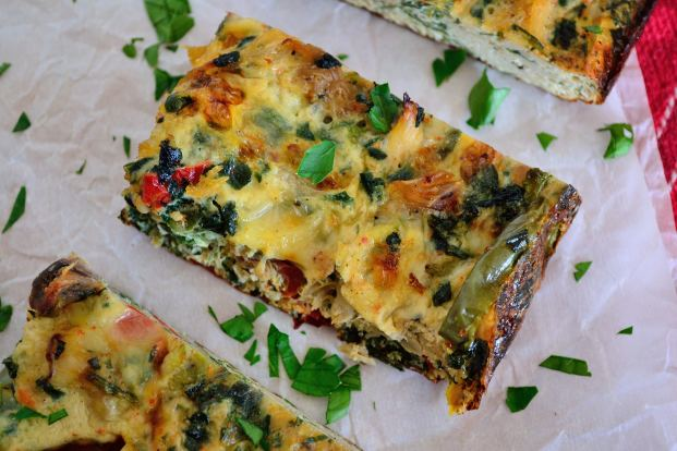 Veggie Egg Bake | Life Healthfully Lived