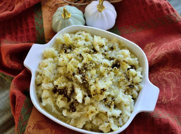 Pesto Cauliflower & Potato Mash | Life Healthfully Lived