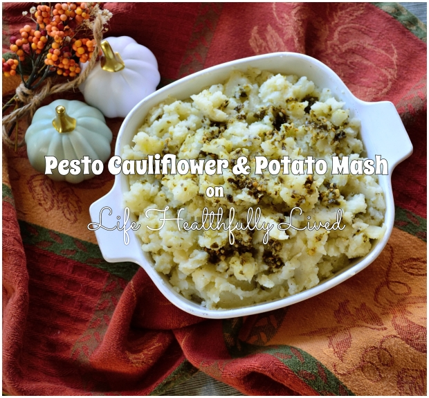Pesto Cauliflower & Potato Mash | Life Healthfully Lived