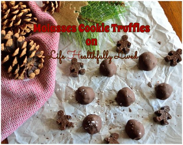 Molasses Cookie Truffle | Life Healthfully Lived